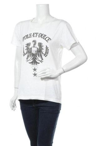 Дамска тениска Selected, Размер M, Цвят Бял, Памук, Цена 8,82лв.