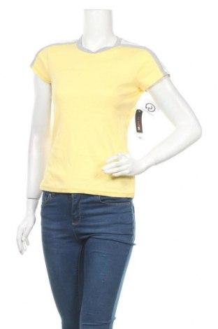Дамска тениска St. John's Bay, Размер S, Цвят Жълт, 98% памук, 1% полиестер, 1% еластан, Цена 18,90лв.