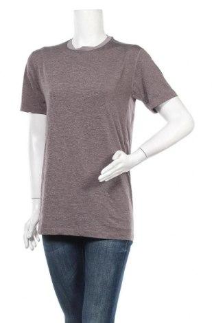 Дамска тениска Starter, Размер M, Цвят Сив, 84% полиестер, 16% еластан, Цена 14,28лв.