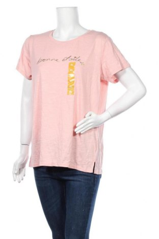 Дамска тениска Target, Размер XL, Цвят Розов, Памук, полиестер, Цена 24,41лв.