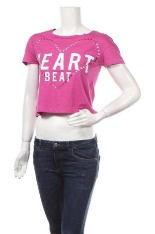 Дамска тениска Things We Love, Размер XS, Цвят Розов, Памук, Цена 4,46лв.