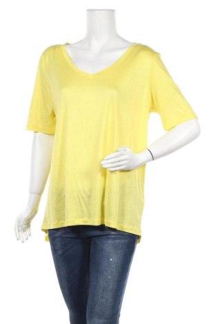 Дамска тениска Tom Tailor, Размер XL, Цвят Жълт, Лиосел, Цена 19,11лв.