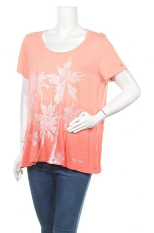 Γυναικείο t-shirt Tommy Hilfiger, Μέγεθος XL, Χρώμα Ρόζ , Βαμβάκι, Τιμή 15,59€
