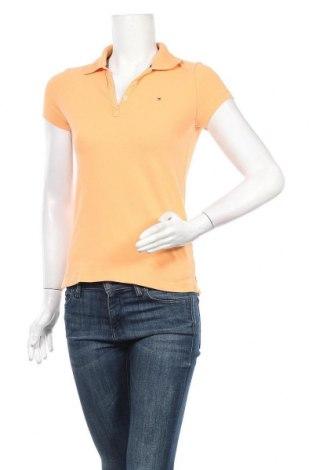 Дамска тениска Tommy Hilfiger, Размер S, Цвят Оранжев, 94% памук, 6% еластан, Цена 33,92лв.