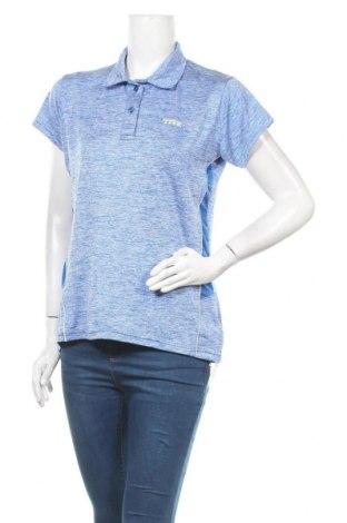 Γυναικείο t-shirt Trendy, Μέγεθος XL, Χρώμα Μπλέ, Πολυεστέρας, ελαστάνη, Τιμή 5,52€