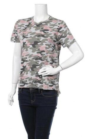 Дамска тениска Twintip, Размер M, Цвят Многоцветен, 50% памук, 50% полиестер, Цена 13,97лв.