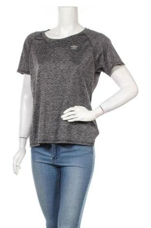 Дамска тениска Umbro, Размер L, Цвят Сив, 88% полиестер, 12% еластан, Цена 14,96лв.