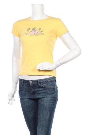 Дамска тениска Venice Beach, Размер S, Цвят Жълт, Памук, Цена 13,23лв.