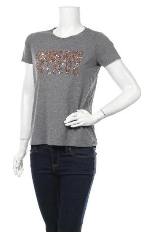 Дамска тениска Vero Moda, Размер S, Цвят Сив, 70% полиестер, 30% памук, Цена 12,50лв.