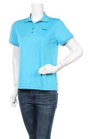 Дамска тениска Vittorio Rossi, Размер L, Цвят Син, Полиестер, Цена 12,50лв.