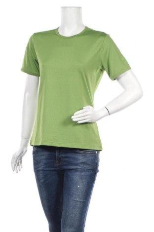 Дамска тениска Vittorio Rossi, Размер L, Цвят Зелен, 89% полиестер, 11% еластан, Цена 16,80лв.