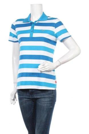 Дамска тениска Vittorio Rossi, Размер M, Цвят Син, Полиестер, Цена 15,12лв.