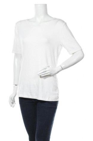 Дамска тениска Worthington, Размер XL, Цвят Бял, 59% памук, 39% модал, 2% еластан, Цена 9,56лв.