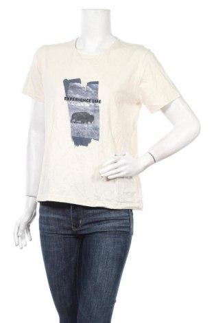 Дамска тениска X-Mail, Размер XL, Цвят Бежов, Памук, Цена 18,48лв.