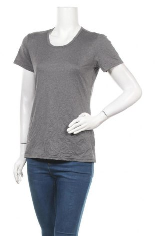 Γυναικείο t-shirt ZeroXposur, Μέγεθος L, Χρώμα Γκρί, 90% πολυεστέρας, 10% ελαστάνη, Τιμή 3,41€