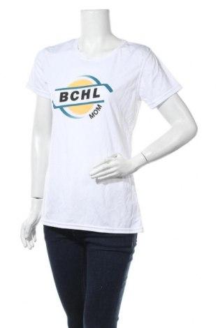 Дамска тениска Zorrel, Размер L, Цвят Бял, Полиестер, Цена 8,09лв.
