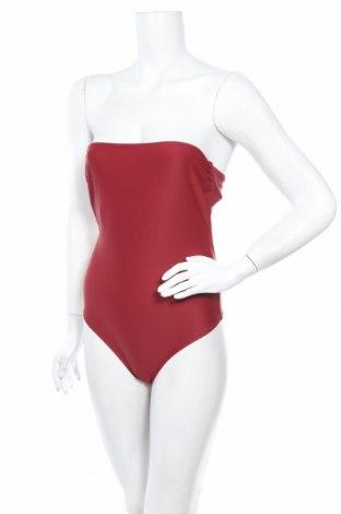 Дамски бански, Размер S, Цвят Червен, 72% полиамид, 28% еластан, Цена 21,07лв.