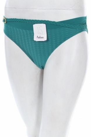 Дамски бански Aubade, Размер S, Цвят Зелен, 87% полиамид, 13% еластан, Цена 10,64лв.