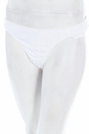Дамски бански Cotton On, Размер XL, Цвят Бял, 93% полиамид, 7% еластан, Цена 12,92лв.