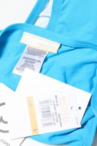Дамски бански MICHAEL Michael Kors, Размер S, Цвят Син, 85% полиамид, 15% еластан, Цена 13,35лв.