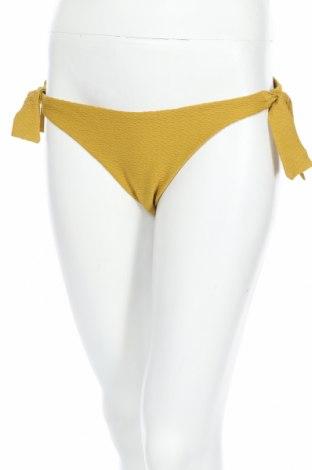 Дамски бански Oysho, Размер M, Цвят Жълт, 81% полиамид, 19% еластан, Цена 12,87лв.