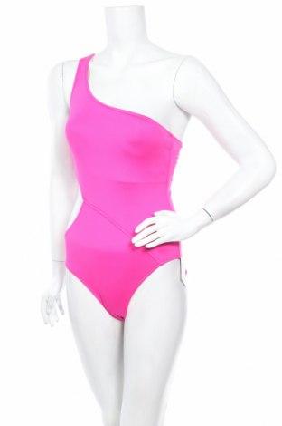 Дамски бански Seafolly, Размер M, Цвят Розов, 83% полиестер, 17% еластан, Цена 77,40лв.