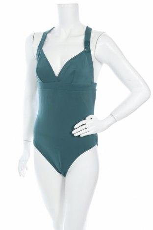 Дамски бански Simone Perele, Размер L, Цвят Зелен, 75% полиамид, 25% еластан, Цена 65,28лв.