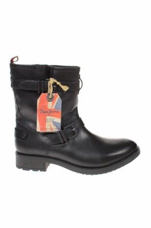 Дамски боти Pepe Jeans, Размер 41, Цвят Черен, Естествена кожа, Цена 88,06лв.