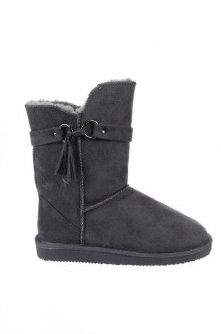 Γυναικείες μπότες Island Boot, Μέγεθος 39, Χρώμα Γκρί, Κλωστοϋφαντουργικά προϊόντα, Τιμή 35,36€