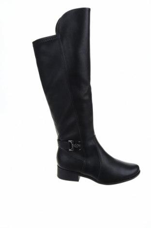 Дамски ботуши Piccadilly, Размер 37, Цвят Черен, Еко кожа, Цена 49,05лв.