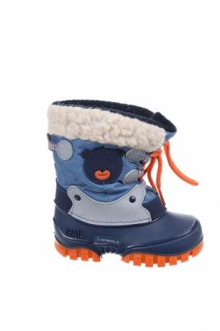 Παιδικά παπούτσια Spirale, Μέγεθος 22, Χρώμα Μπλέ, Κλωστοϋφαντουργικά προϊόντα, δερματίνη, Τιμή 12,53€