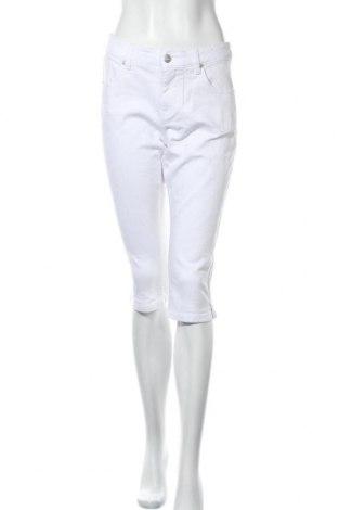 Дамски дънки Aniston, Размер M, Цвят Бял, 98% памук, 2% еластан, Цена 31,00лв.