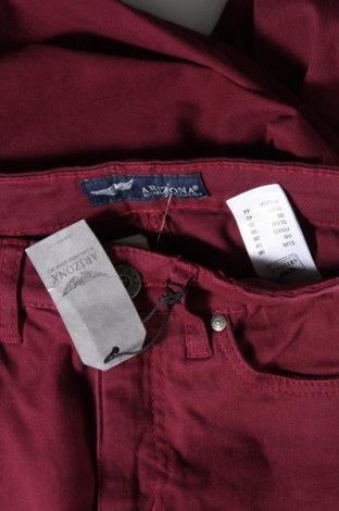 Дамски дънки Arizona, Размер S, Цвят Червен, 98% памук, 2% еластан, Цена 29,23лв.