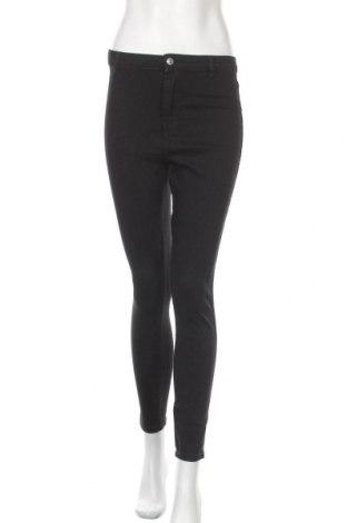 Дамски дънки Bershka, Размер S, Цвят Черен, 98% памук, 2% еластан, Цена 21,00лв.