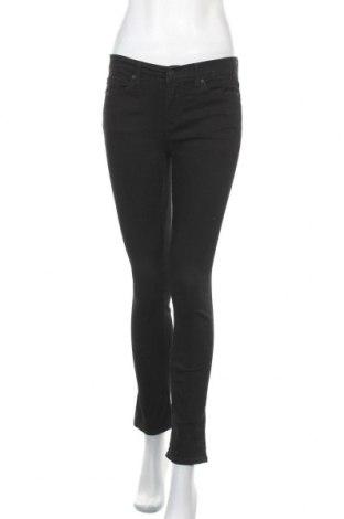 Дамски дънки Calvin Klein Jeans, Размер S, Цвят Черен, 71% памук, 27% полиестер, 2% еластан, Цена 41,58лв.