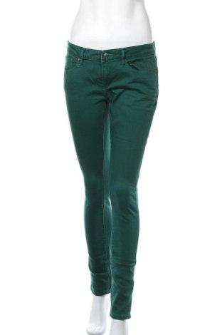 Дамски дънки Esprit, Размер M, Цвят Зелен, 99% памук, 1% еластан, Цена 30,24лв.