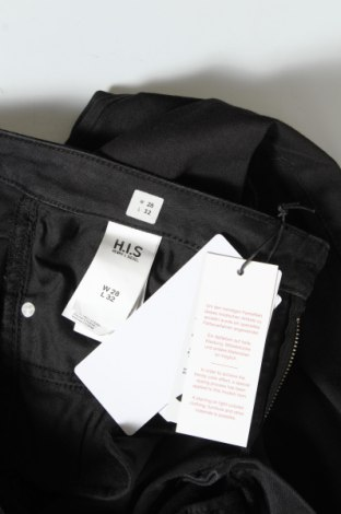 Дамски дънки H.i.s, Размер M, Цвят Черен, 51% памук, 23% полиестер, 14% лиосел, 10% вискоза, 2% еластан, Цена 66,75лв.