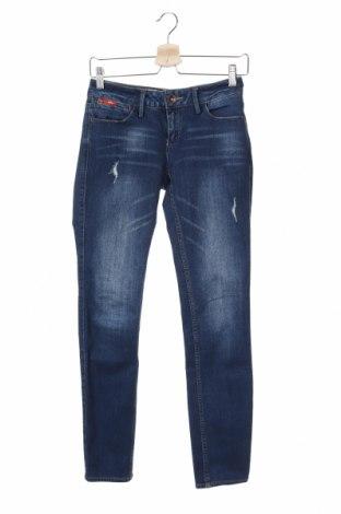 Дамски дънки Lee Cooper, Размер XS, Цвят Син, 68% памук, 30% полиестер, 1% вискоза, 1% еластан, Цена 27,00лв.