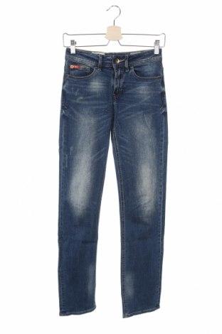 Дамски дънки Lee Cooper, Размер XS, Цвят Син, 98% памук, 2% еластан, Цена 20,88лв.