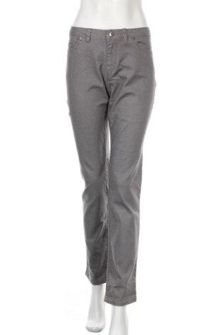 Дамски дънки Nicole Miller, Размер L, Цвят Сив, 75% памук, 23% полиестер, 2% еластан, Цена 10,24лв.