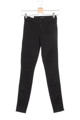 Дамски дънки ONLY, Размер XS, Цвят Черен, 50% памук, 29% полиестер, 19% памук, 2% еластан, Цена 40,50лв.
