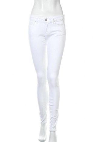 Дамски дънки Pepe Jeans, Размер S, Цвят Бял, 97% памук, 3% еластан, Цена 47,32лв.