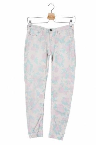 Дамски дънки Pepe Jeans, Размер XS, Цвят Многоцветен, 98% памук, 2% еластан, Цена 34,22лв.