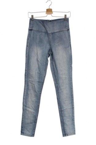 Дамски дънки Pieces, Размер S, Цвят Син, 98% памук, 2% еластан, Цена 17,64лв.