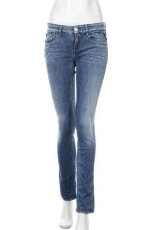 Дамски дънки Replay, Размер S, Цвят Син, 98% памук, 2% еластан, Цена 51,00лв.
