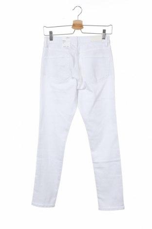 Дамски дънки S.Oliver, Размер XS, Цвят Бял, 50% памук, 40% вискоза, 8% полиестер, Цена 72,00лв.