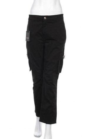 Дамски дънки TWINSET, Размер L, Цвят Черен, 98% памук, 2% еластан, Цена 114,92лв.