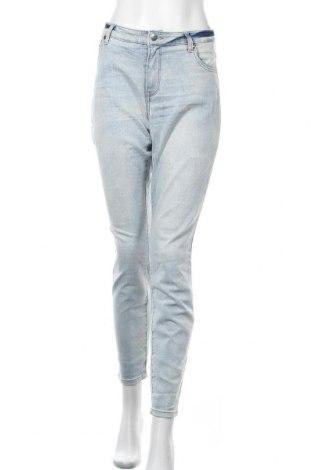 Дамски дънки Tamaris, Размер XL, Цвят Син, 74% памук, 24% полиестер, 2% еластан, Цена 32,80лв.