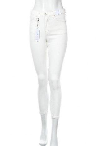 Дамски дънки Topshop, Размер S, Цвят Бял, 92% памук, 5% полиестер, 3% еластан, Цена 31,05лв.