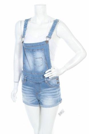 Γυναικεία τζίν σαλοπέτα Fb Sister, Μέγεθος M, Χρώμα Μπλέ, 88% βαμβάκι, 2% ελαστάνη, Τιμή 15,46€